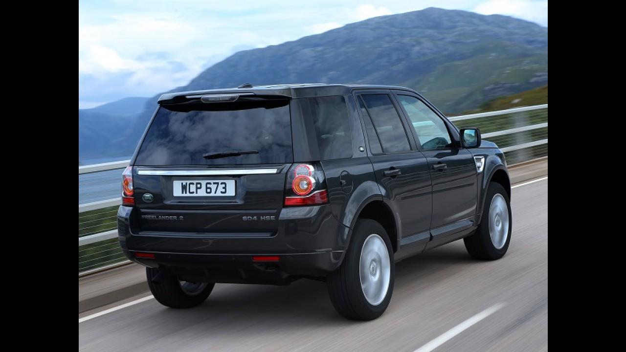 Land Rover faz recall do Freelander no Brasil por risco de incêndio