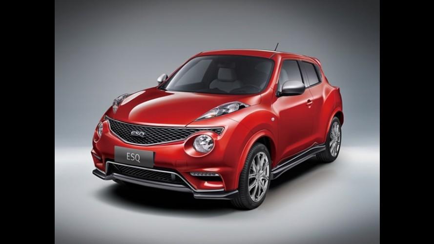 Infiniti ESQ, com motor de 200 cv, é a versão de luxo do Nissan Juke