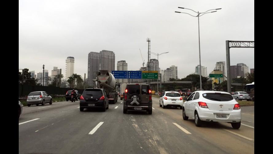 São Paulo: avenidas terão velocidade limitada a 50 km/h até dezembro