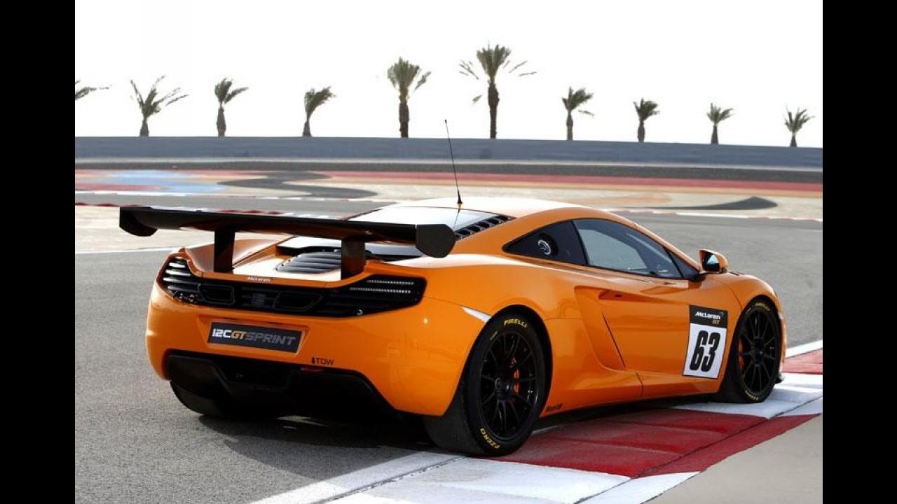 "McLaren vai lançar o ""ainda melhor"" MP4-12C GT Sprint em Goodwood"