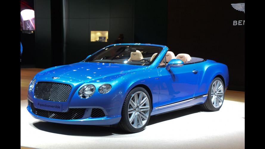 Bentley al Salone di Detroit 2013