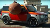 ¿Qué pasa si golpeas un coche con una bola de demolición?