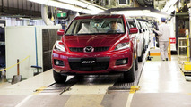 Production Start for Mazda CX-7 Crossover SUV