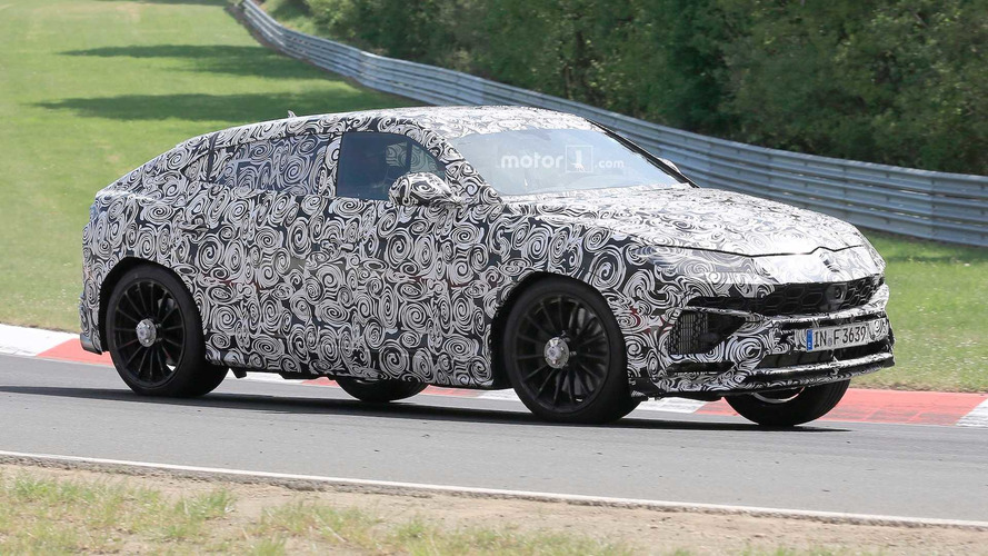 Lamborghini Urus Spied On Nurburgring Again, Still Sounds Mean