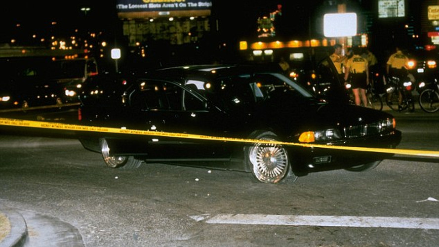 2pac and biggie cars
