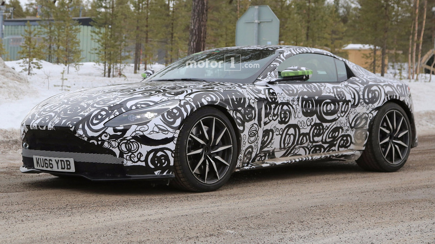 Photos espion - Une Aston Martin DB11 S en préparation ?