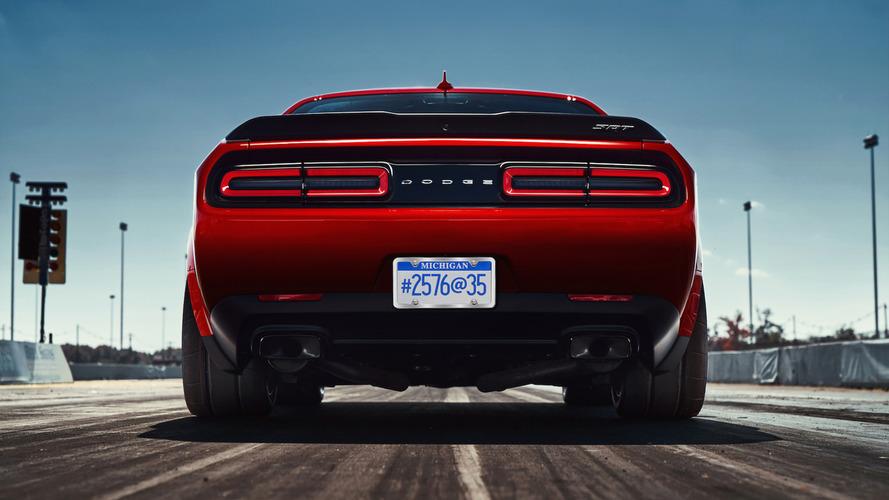 2018 Dodge Challenger SRT Demon Teaser'ları