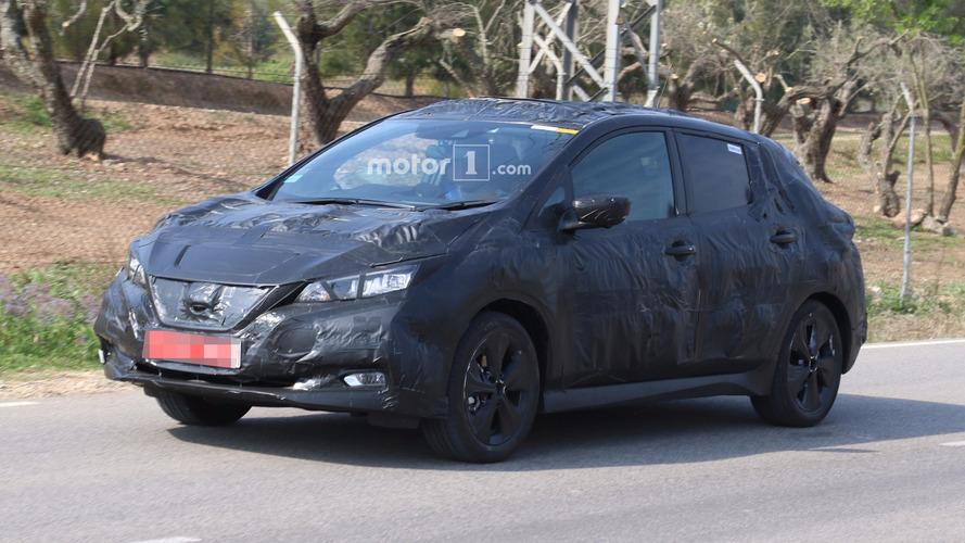 Photos espions - Nissan prépare la prochaine génération de Leaf