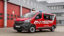 Opel Vivaro fire department command vehicle