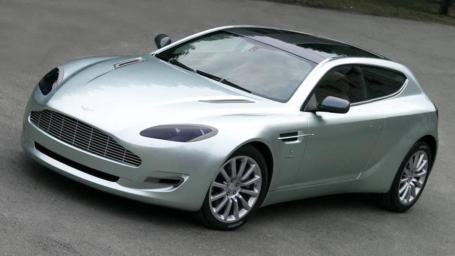 Aston Martin Jet 2, stile british con accento italiano