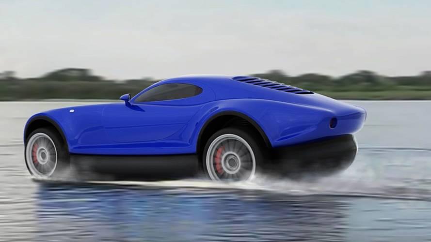 Yagalët é o carro russo que consegue andar sobre a água