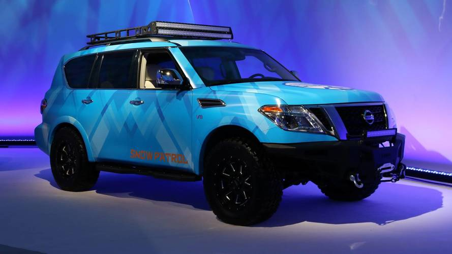 The Nissan Armada Snow Patrol Is Ready To Haul Your Winter Toys