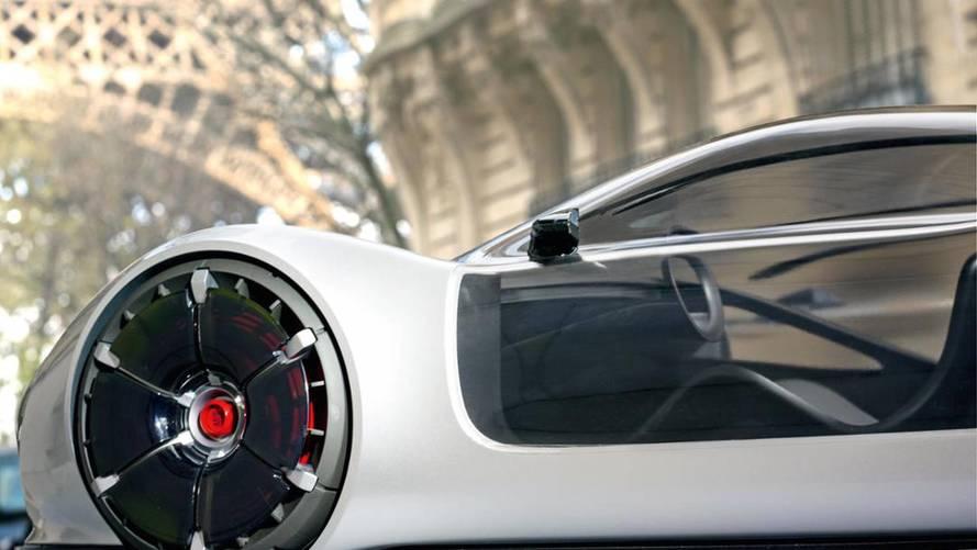 Porsche Envisions Futuristic Concepts As 1:3 Scale Models