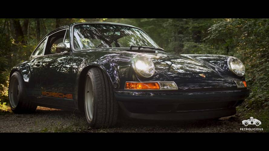 Watch And Listen As This Singer-Built Porsche 911 Struts Its Stuff