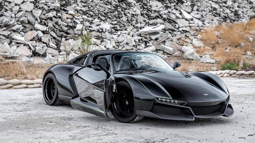 Rezvani Beast Alpha X Blackbird Is 700-HP Spy Plane For The Road