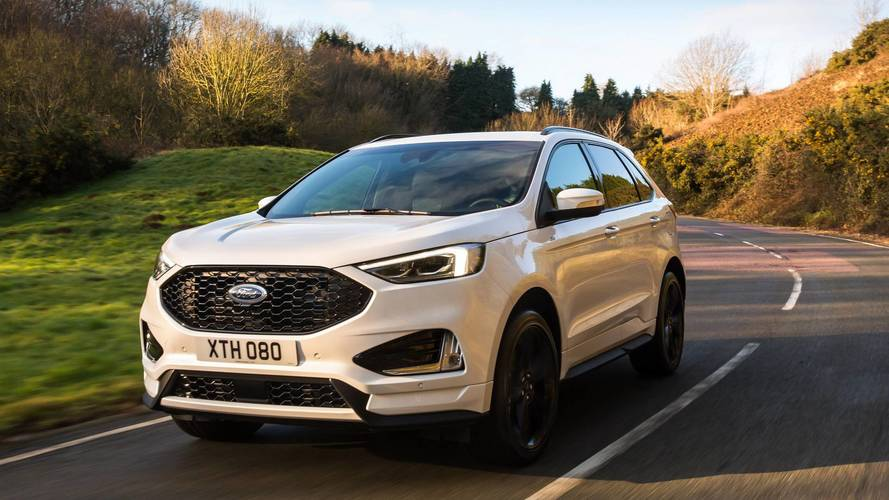 Ford Edge SUV facelifted