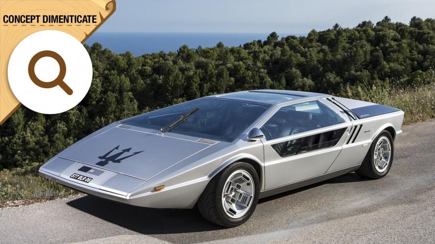 Maserati Boomerang, la one-off che ha (di)segnato la storia