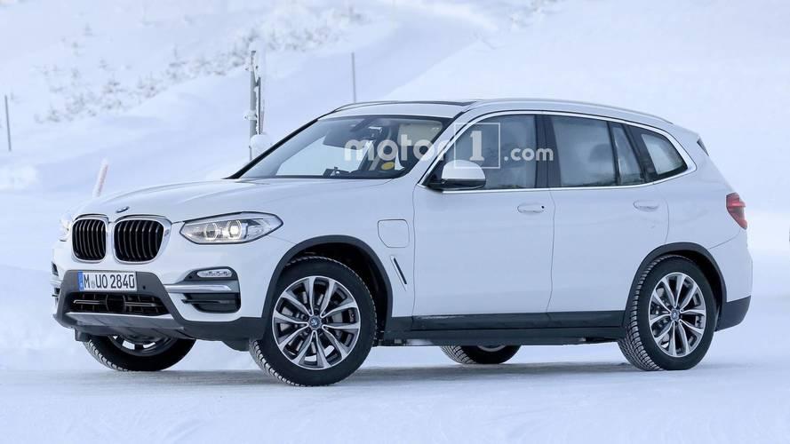 Fully Electric BMW iX3, Plug-In Hybrid X3 Make Spy Photo Debut