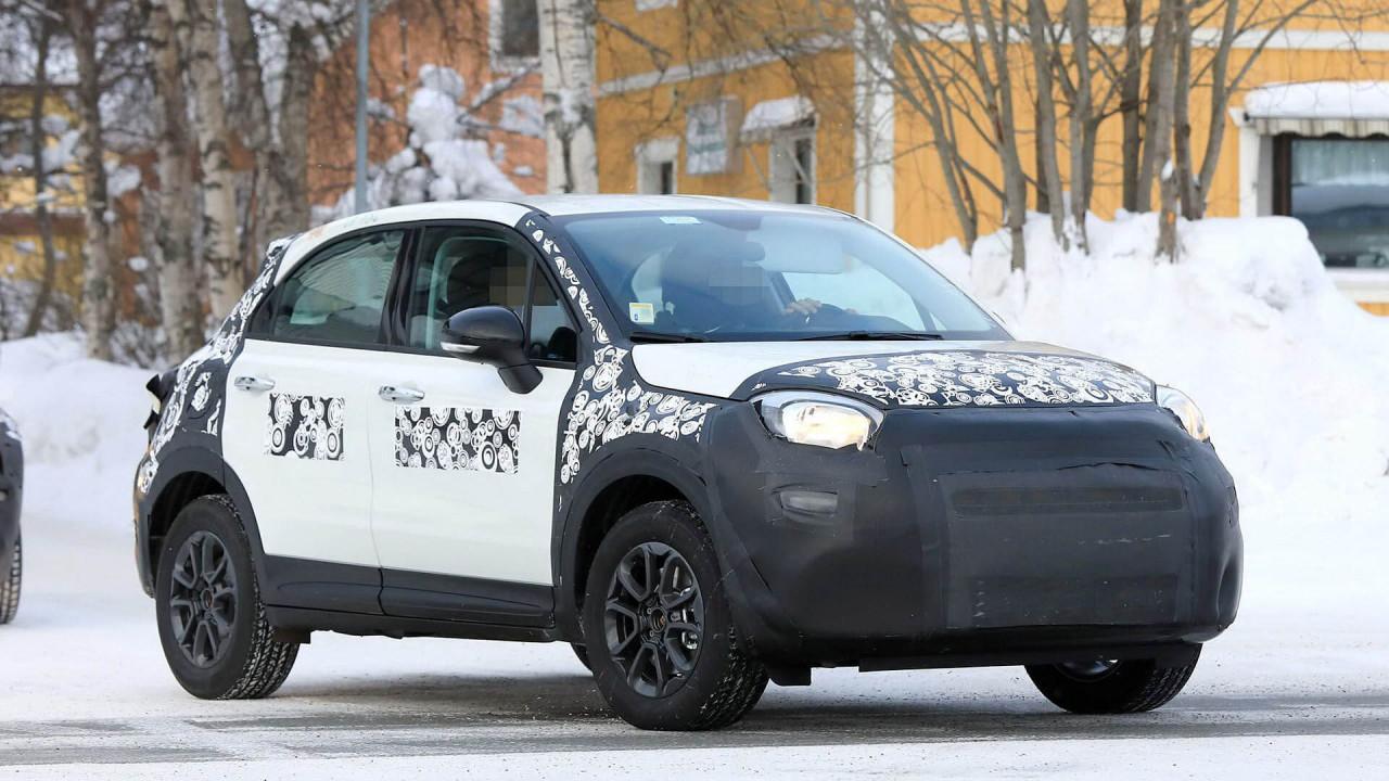 Fiat 500X Facelift