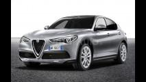 Alfa Romeo Stelvio normale, il rendering 001