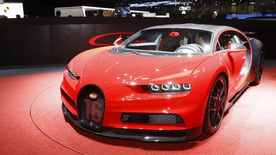 Bugatti Chiron Sport au salon de Genève 2018