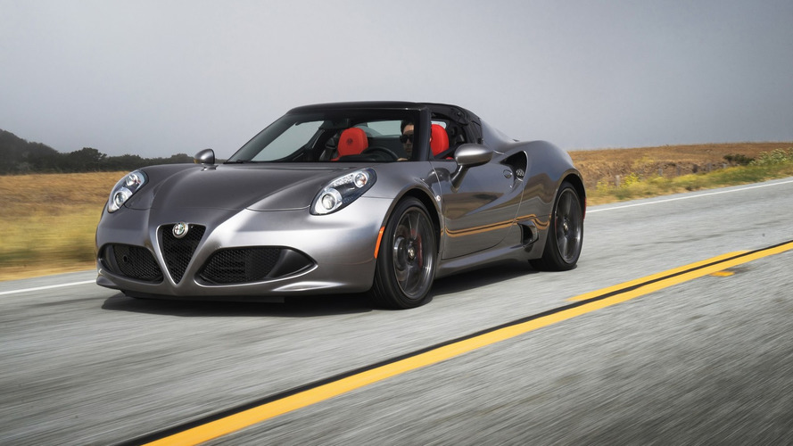 2016 Alfa Romeo 4C and 4C Spider introduced with minor updates