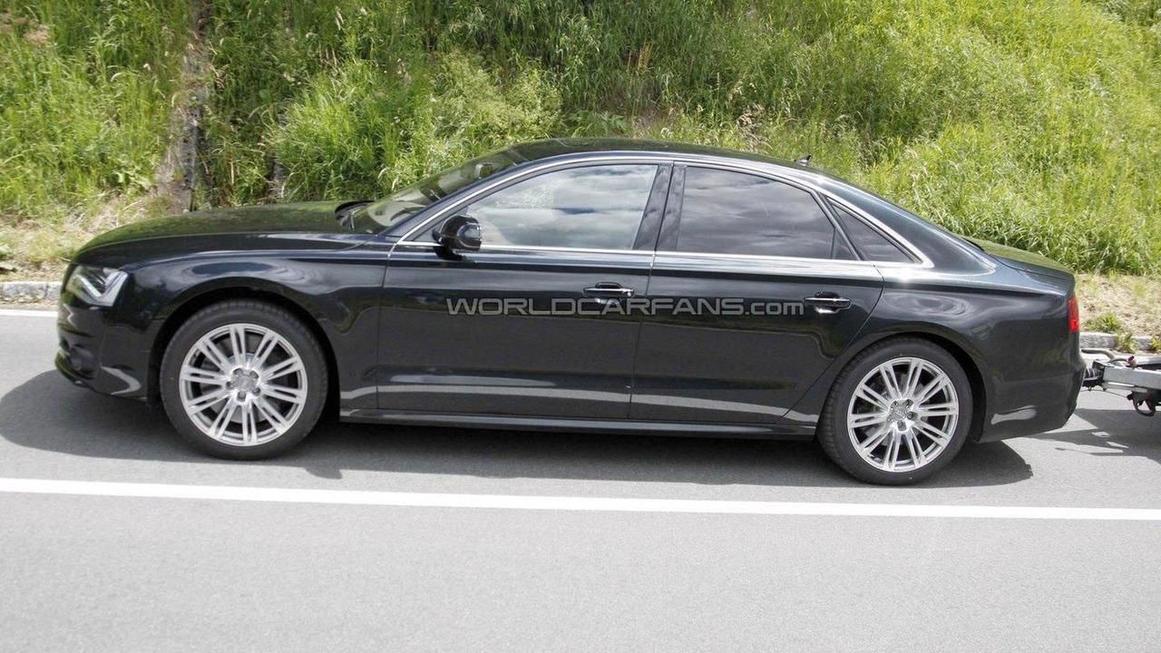 2012 Audi S8 spied 28.07.2011