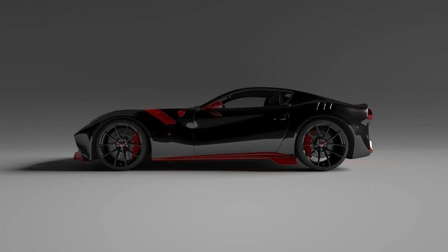 Ferrari F12tdf with Vitesse AuDessus carbon body drops 159 kg