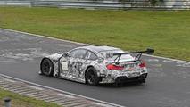 BMW M6 GT3 spy photo