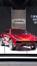 Lamborghini Urus concept SUV live in Beijing