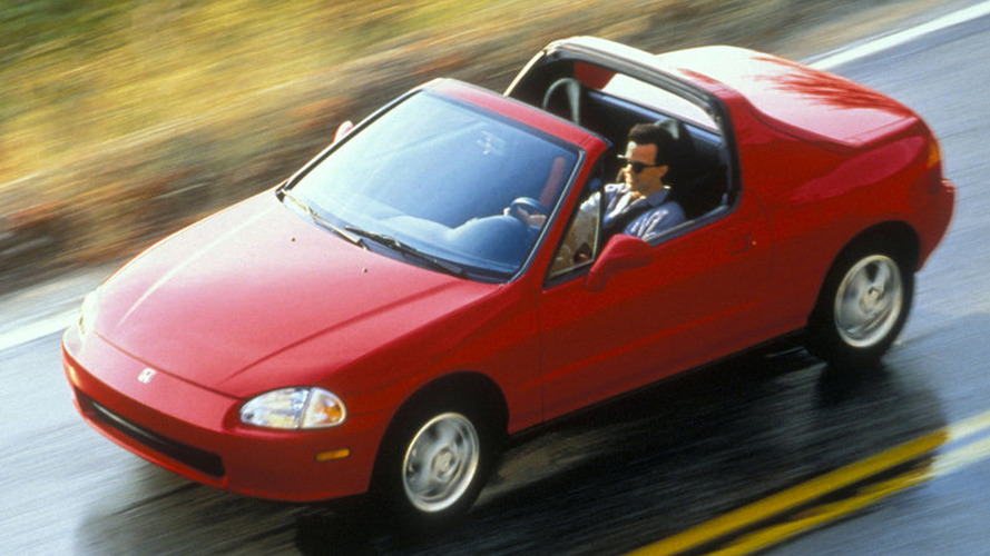 Worst Sports Cars Honda Del Sol - Simple sports car