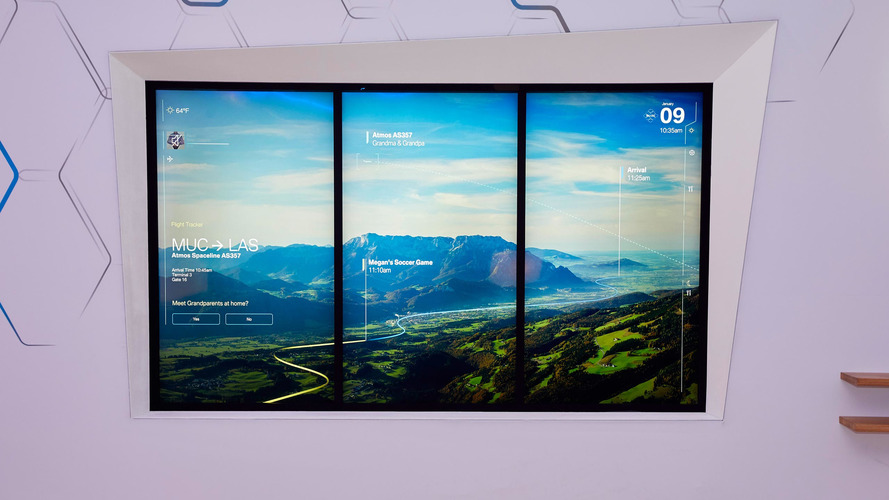 BMW showcases Connected Window that will help with digital life