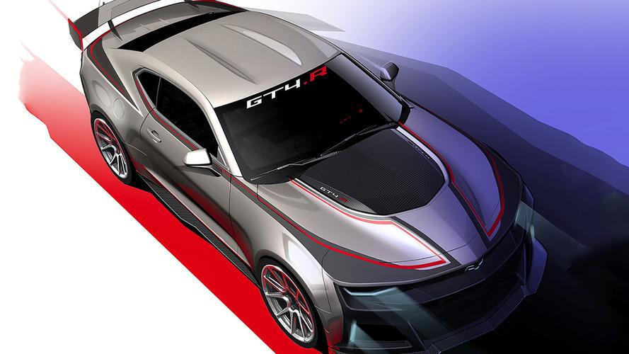 Yeni Chevy Camaro GT4.R pistlere çıkmaya hazır