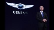 Hyundai mostra teaser do Genesis feito para brigar com BMW Série 3