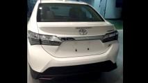 Segredo: vazam fotos do Toyota Corolla com visual esportivo