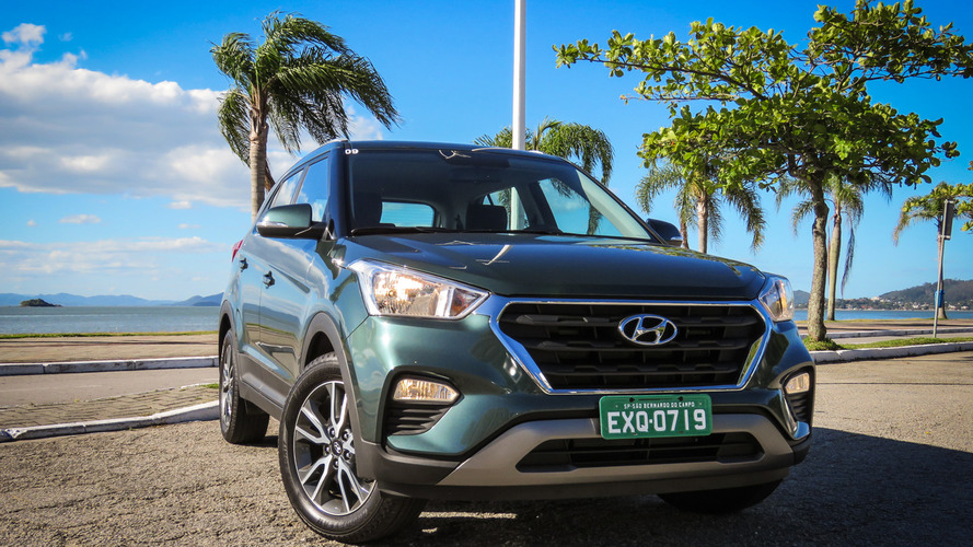 Mais vendidos na 1ª quinzena - Hyundai Creta começa fevereiro no top 20