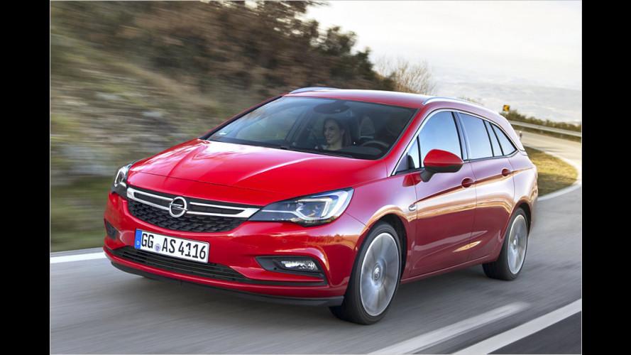 Der neue Opel Astra Sports Tourer mit Top-Diesel im Test