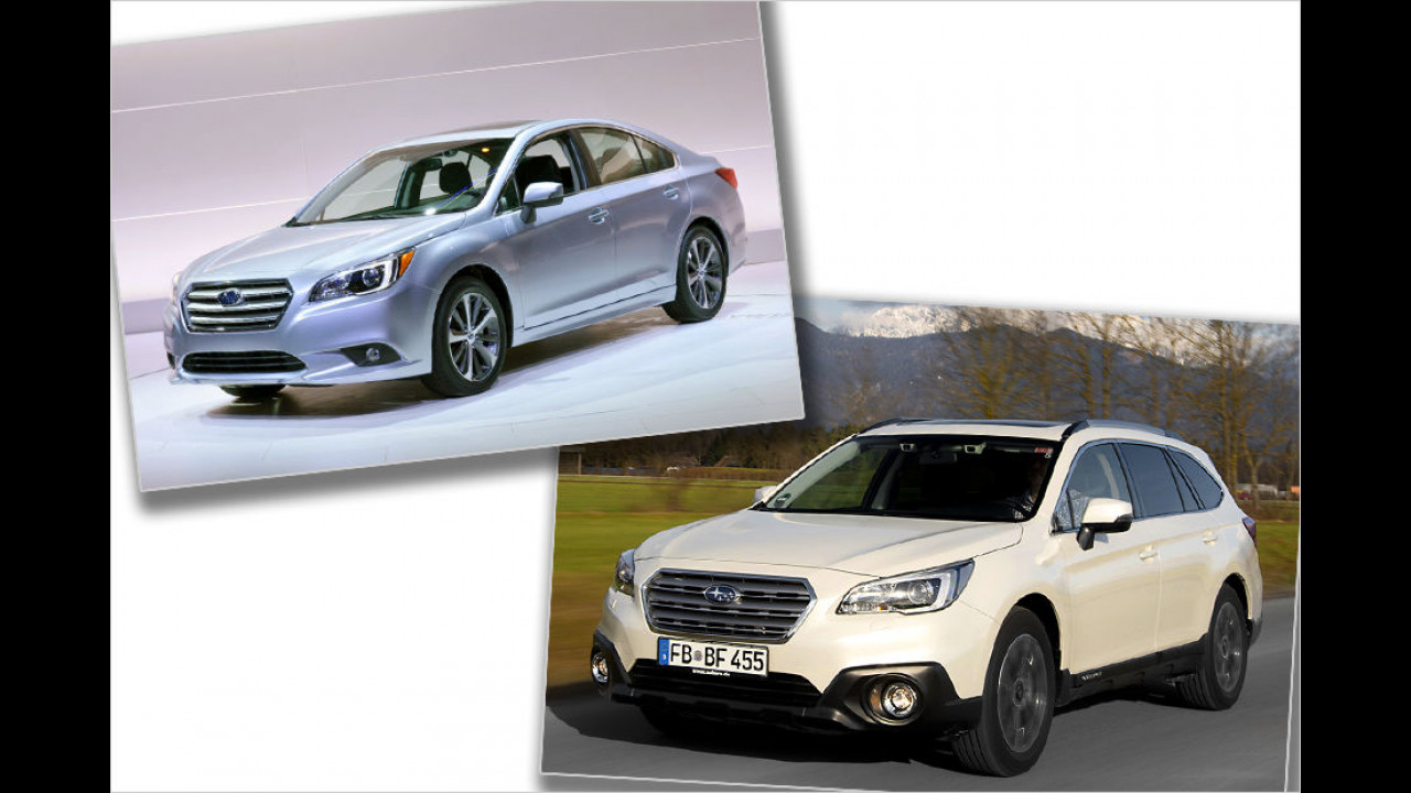 Platz 9: Subaru Legacy / Outback (20 Punkte)
