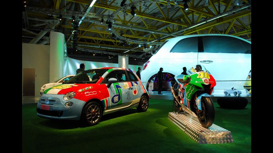 Fiat 500 Valentino Rossi al Motor Show