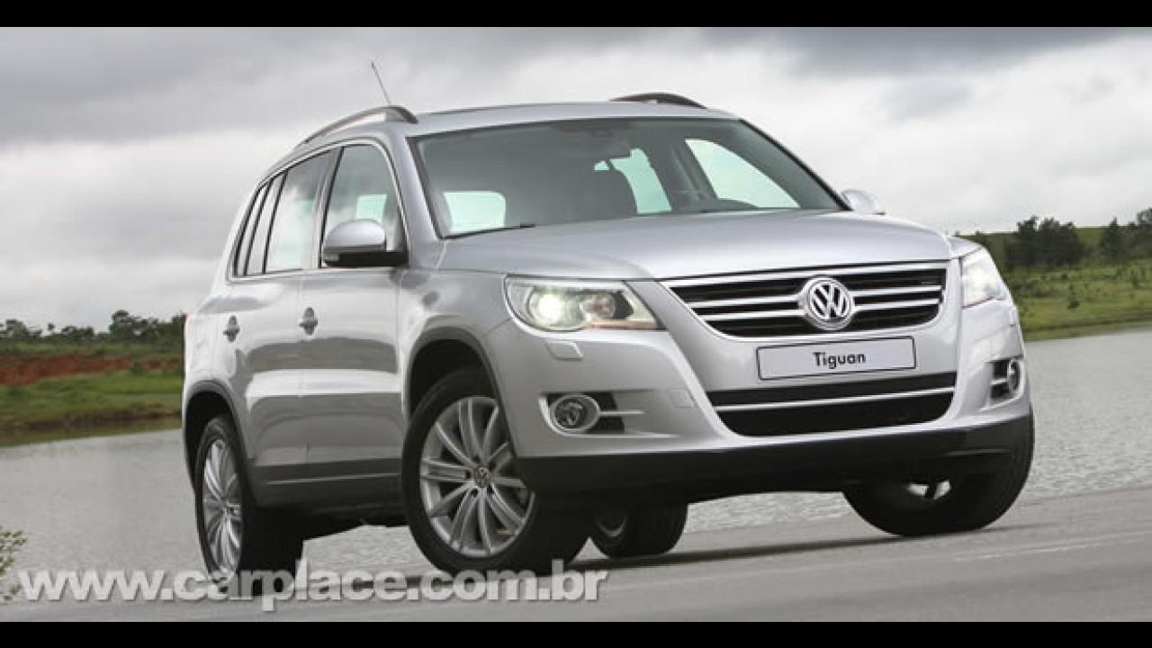 VW Tiguan ganhará reestilização visual em 2010 - Leitor envia projeção