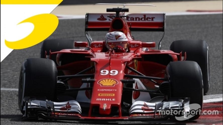 Ferrari, Giovinazzi debutta sulla SF70H in Bahrain