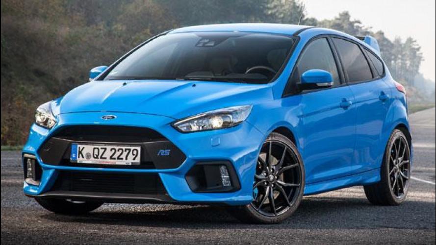 Ford Focus RS sarà gommata Michelin