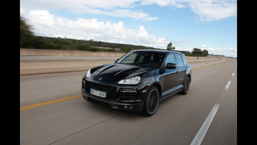 Techart Cayenne da record a 321,2 km/h