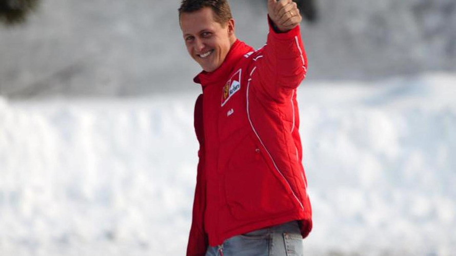 Schumacher starting to wake up