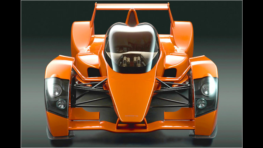 Caparo bringt den T1 mit einem 3,5-Liter-V8-Aluminium-Motor