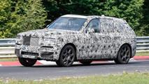 Rolls-Royce Cullinan Nurburgring Spy Photos