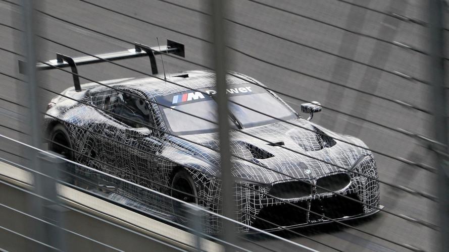 BMW M8 GTE 2018, primer test en circuito