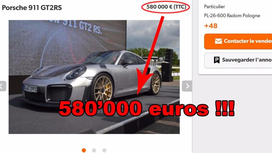 Porsche 911 GT2 RS - Spéculation et prix qui s'envolent!