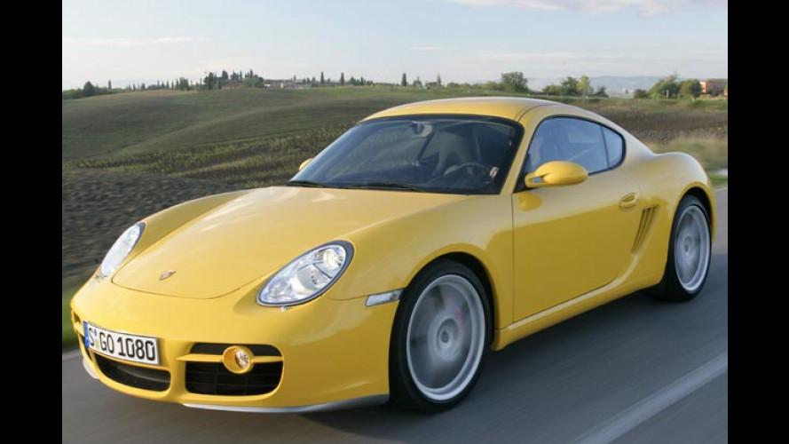 Porsche Cayman S: Blechdach-Boxster als 911-Alternative?