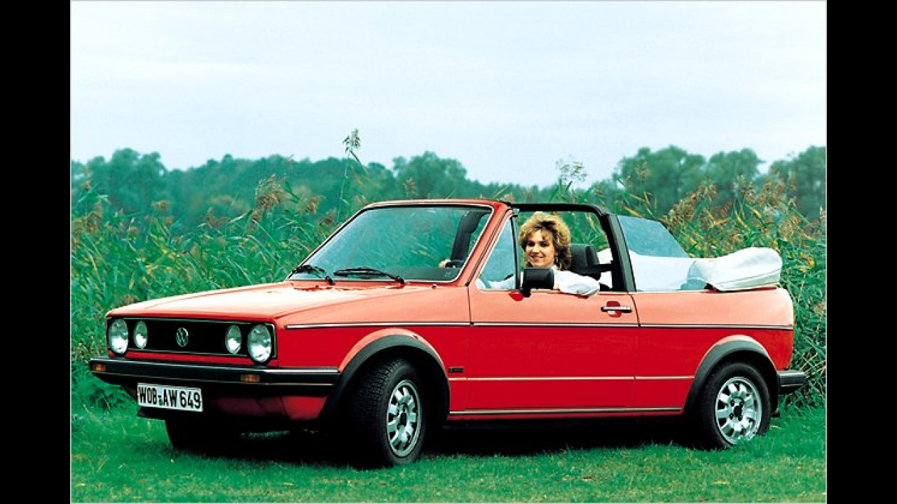 Platz 19: VW Golf I Cabriolet (9,6 Prozent)